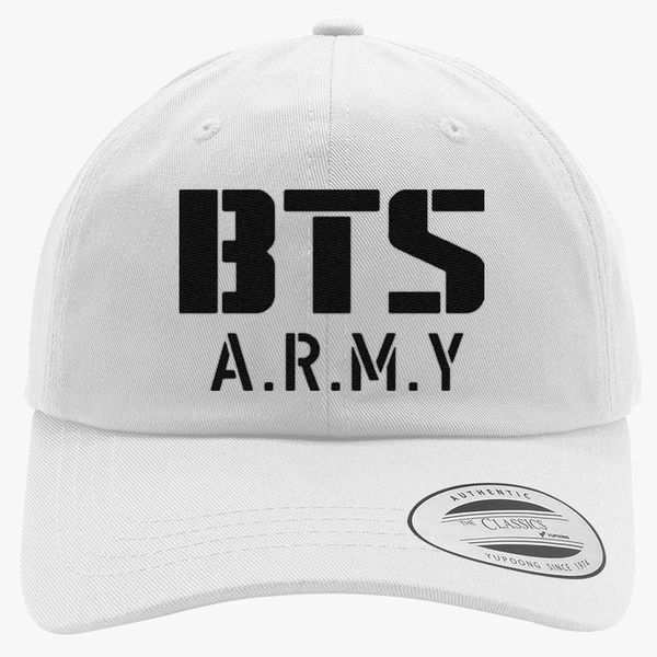 BTS Bangtan Boys BTS ARMY Cotton Twill Hat - Embroidery +more