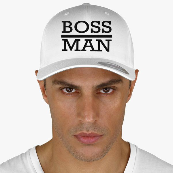 a8277d09916e2 boss man Baseball Cap - Embroidery +more