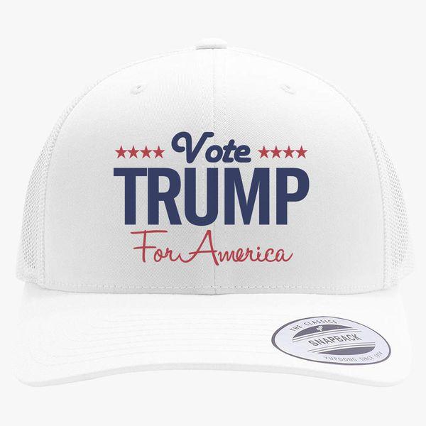 08ee1e67573 Trump Retro Trucker Hat +more