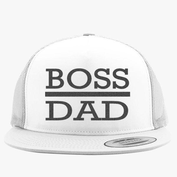 431662eeec3d9 boss dad Trucker Hat - Embroidery +more