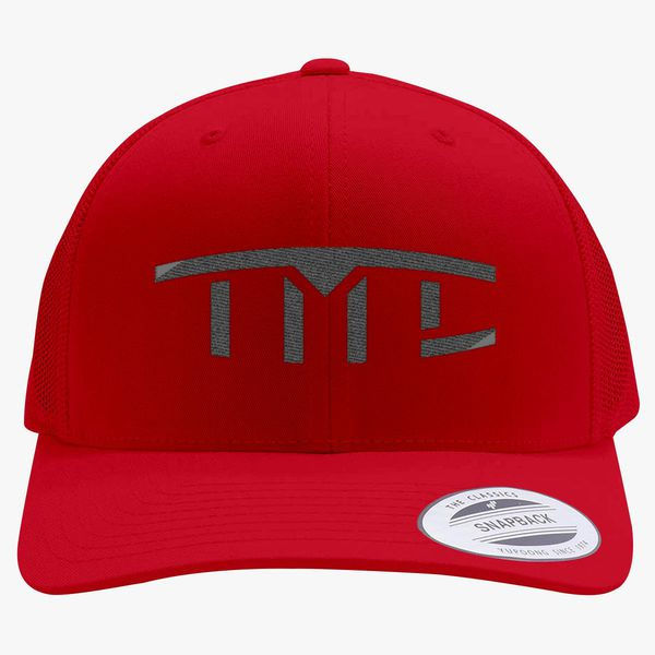 3b4ad268 Tesla Motors Club Retro Trucker Hat (Embroidered) | Hatsline.com