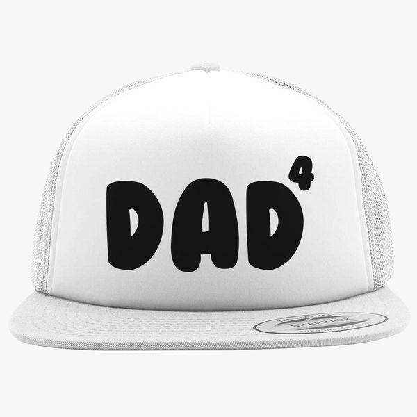 a466884b37e5a Dad Of 4 Foam Trucker Hat +more