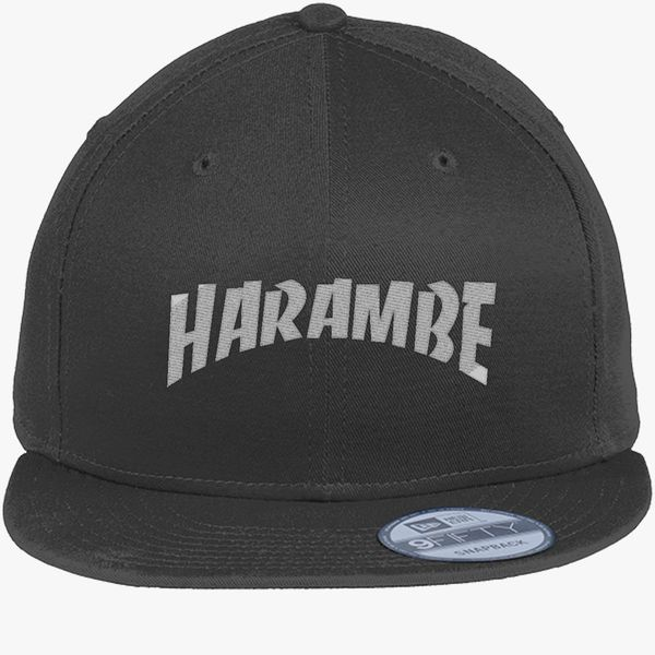 Rest In Peace Harambe New Era Snapback Cap - Embroidery +more b6335ae160b1