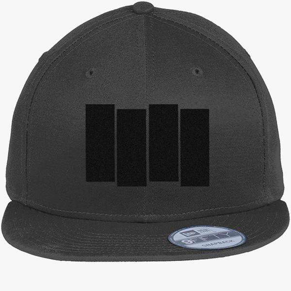 Black Flag New Era Snapback Cap - Embroidery +more 2a5ffe71493