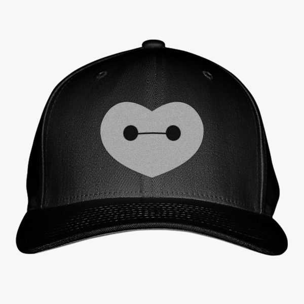 Big Hero 6 - Baymax Shaped Heart Baseball Cap (Embroidered ... d0f80aafc5e1