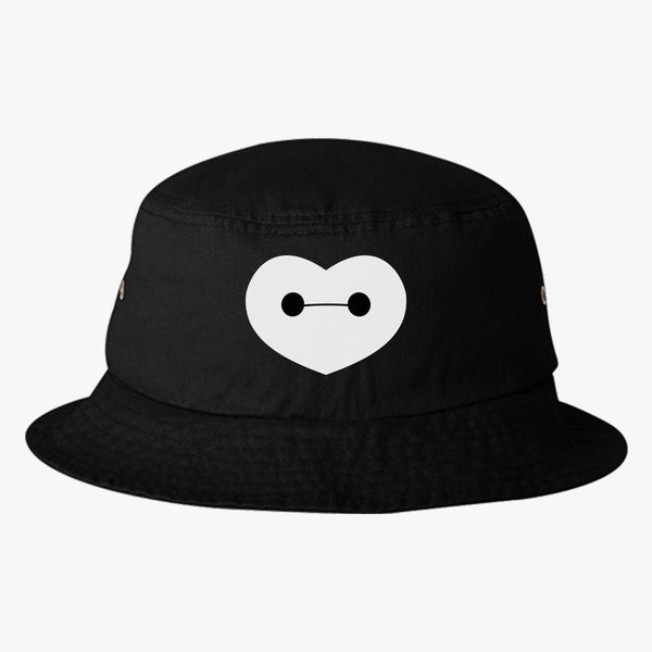 574e31c19a5 Big Hero 6 - Baymax Shaped Heart Bucket Hat (Embroidered)