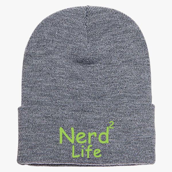 fdd5e2f4c32 Nerd To Life Knit Cap - Embroidery ...