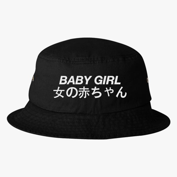 84a84539f2c Baby Girl Japanese Bucket Hat (Embroidered)