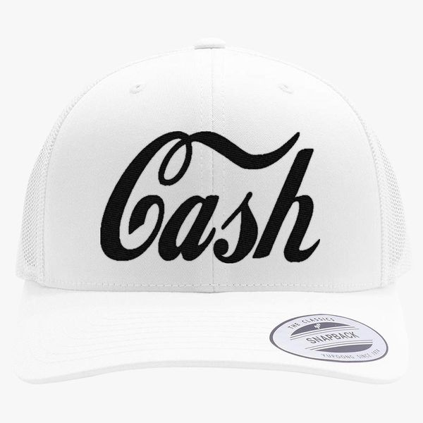 Johnny Cash Retro Trucker Hat - Embroidery +more 80c2ebe37de