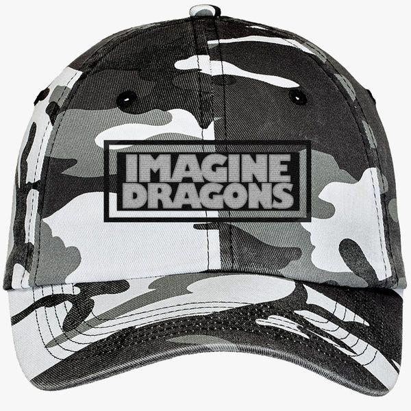 0e01c8efd2c Imagine Dragons Camouflage Cotton Twill Cap - Embroidery +more