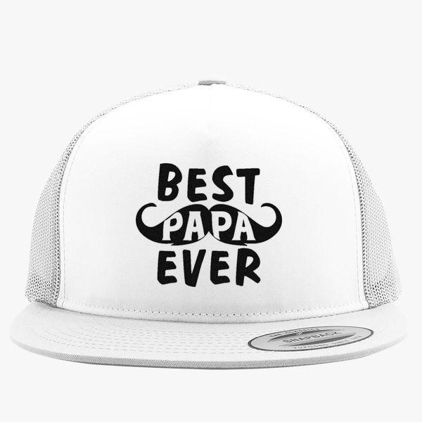 Best Papa Ever Trucker Hat (Embroidered) | Hatsline com