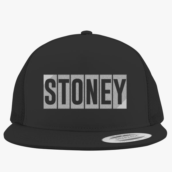 Post Malone-Stoney Trucker Hat - Embroidery +more 0962c1b6c7a2