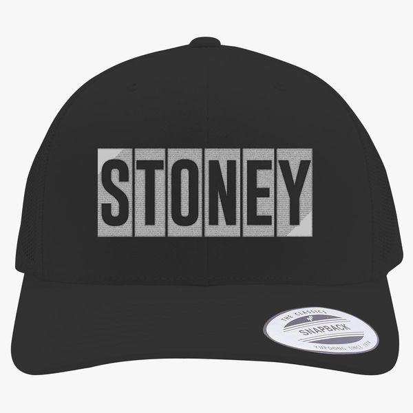Post Malone-Stoney Retro Trucker Hat - Embroidery Change style c86e6b321ca1