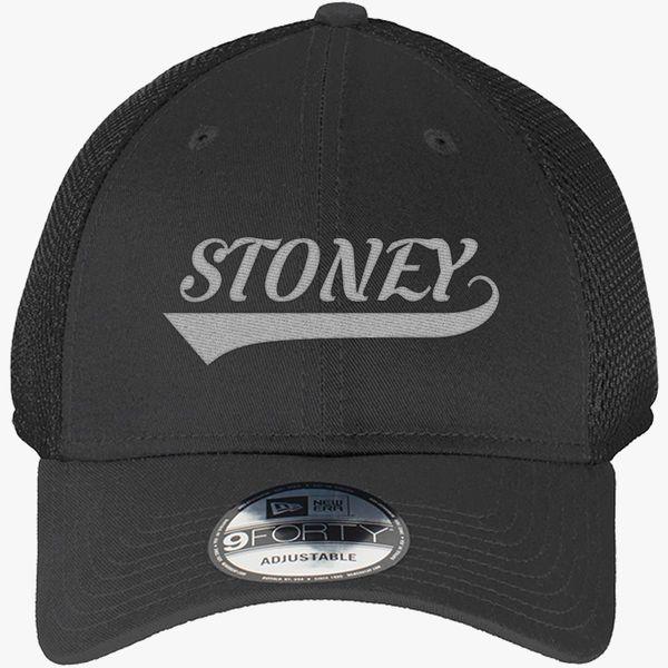 4a34b00a88f62 Post Malone-Stoney New Era Baseball Mesh Cap - Embroidery +more