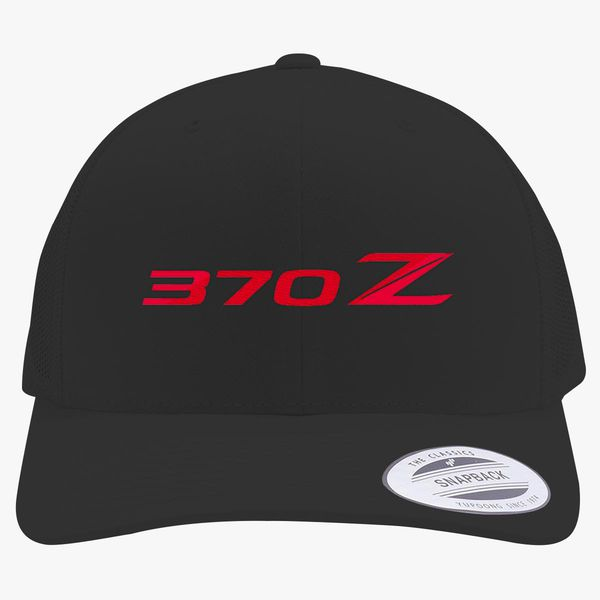 1b78120892d Nissan 370z Retro Trucker Hat - Embroidery +more