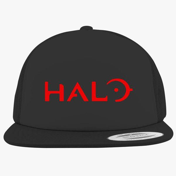 c7cba32654eb5 Halo Logo Foam Trucker Hat +more