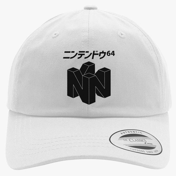 c714c127 Japanese Nintendo 64 Cotton Twill Hat | Hatsline.com
