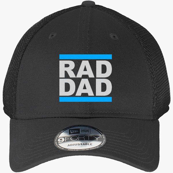 df6c9c27550 rad dad New Era Baseball Mesh Cap - Embroidery +more