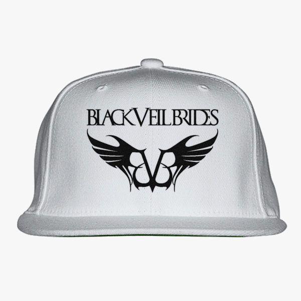 black veil brides Snapback Hat - Embroidery +more 54218c3a971a