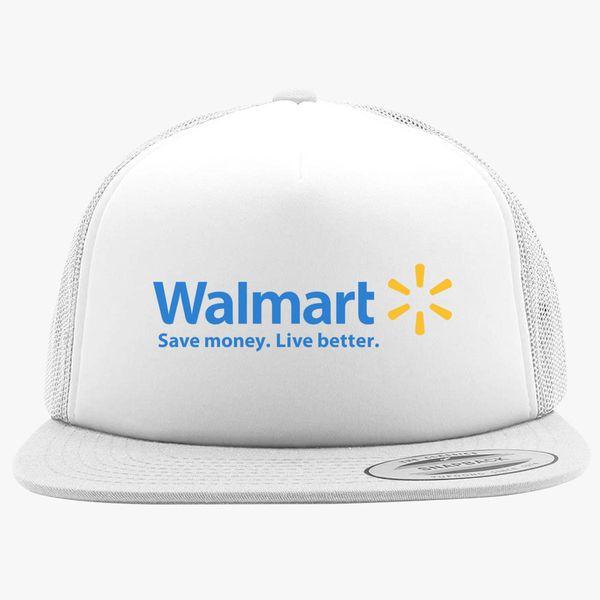 efd01efbfc9 Walmart Logo Foam Trucker Hat +more
