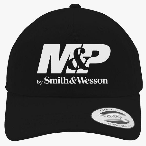 b5f845f3b96a0a Smith and Wesson Logo Cotton Twill Hat   Hatsline.com