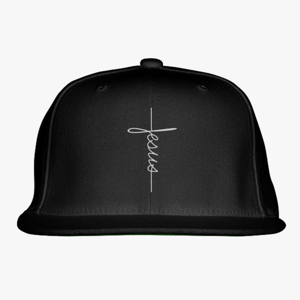 jesus Snapback Hat - Embroidery +more 3e70d5a97982