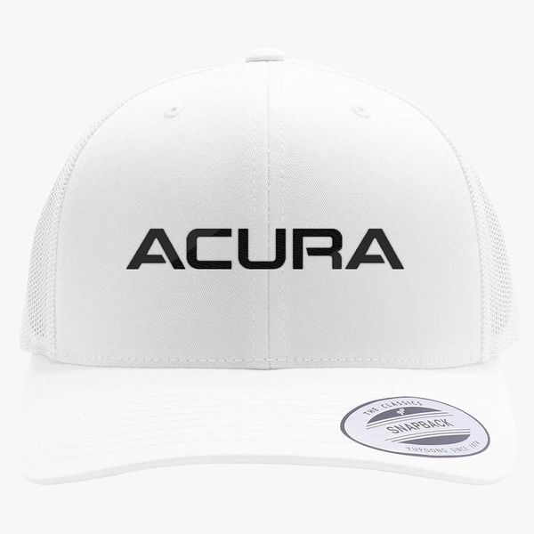 Acura Logo Retro Trucker Hat Embroidered Hatslinecom - Acura hat
