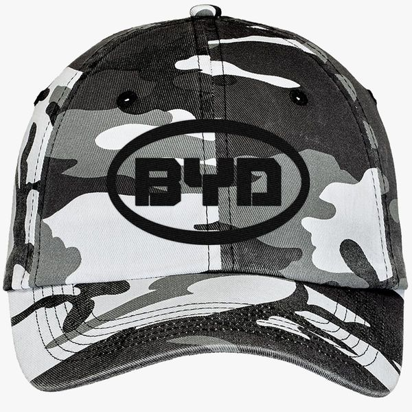 byd car logo Camouflage Cotton Twill Cap - Embroidery +more 5265fbba5f9d