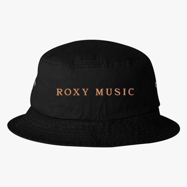537a3dca32fa8 Roxy Music Logo Bucket Hat +more