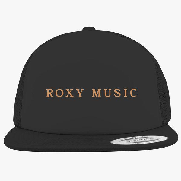 54ef03fc9c36e Roxy Music Logo Foam Trucker Hat +more