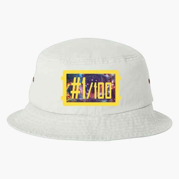PUBG Winner Winner Chicken Dinner galaxy Bucket Hat ... 2ef1312373b