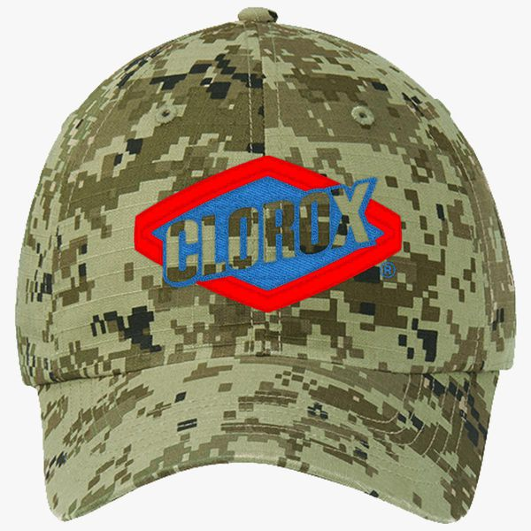 Clorox Bleach Pyrocinycal Leafy Ripstop Camouflage Cotton