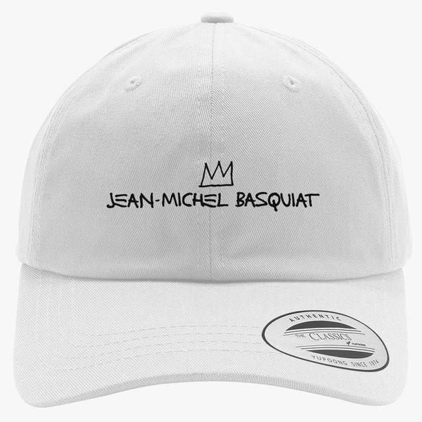 46eae7683a2 Jean Michel Basquiat Logo Cotton Twill Hat +more