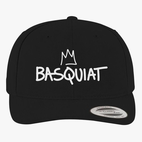 Basquiat Logo Crown Brushed Cotton Twill Hat +more d06baedf8f49