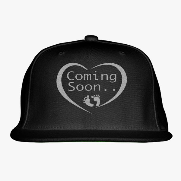 a0bb104a107ee Coming Soon Snapback Hat - Embroidery +more