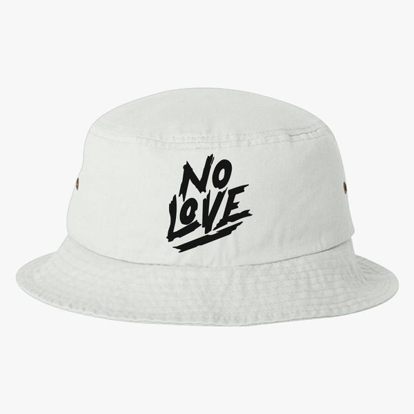 d498564b224b9 No Love Bucket Hat - Embroidery +more