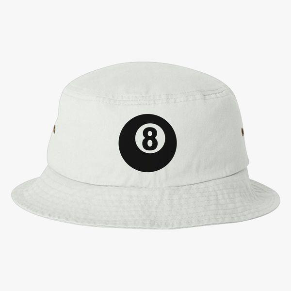 c15558ce93e Billiards eight 8 ball Bucket Hat +more