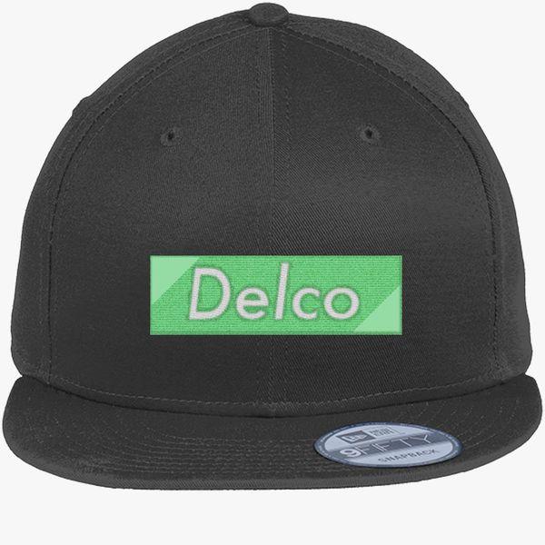 7b178cee935ad Delco Premium New Era Snapback Cap - Embroidery +more