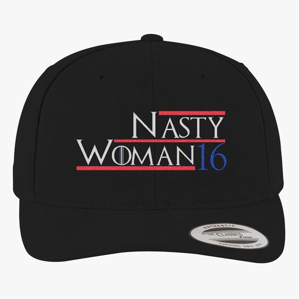 1e222bd258f0a8 Nasty Woman 2016 Brushed Cotton Twill Hat (Embroidered) | Hatsline.com