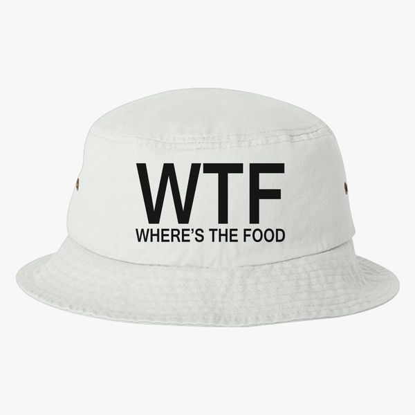 40090acd11a WTF Bucket Hat - Embroidery +more