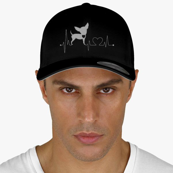 c52c58d609d Chihuahua Heartbeat Baseball Cap - Embroidery +more