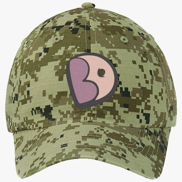 c1e3dee750ced Steven Big Donut Ripstop Camouflage Cotton Twill Cap - Embroidery +more