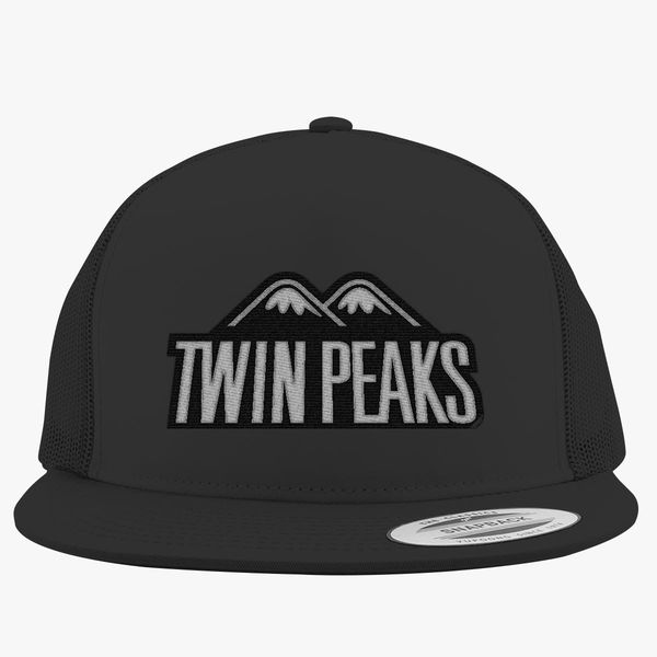 097f5e941b834 Twin Peaks Trucker Hat - Embroidery +more