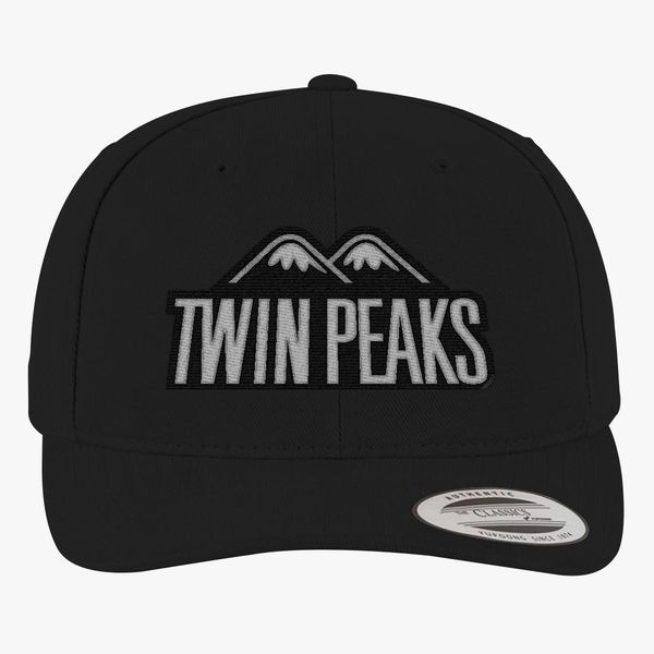 c1cce602 Twin Peaks Brushed Cotton Twill Hat (Embroidered)   Hatsline.com