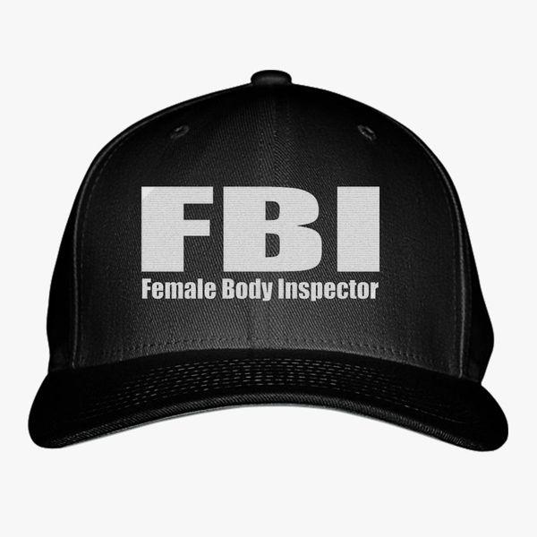 FBI Baseball Cap (Embroidered)  eda7bddc169