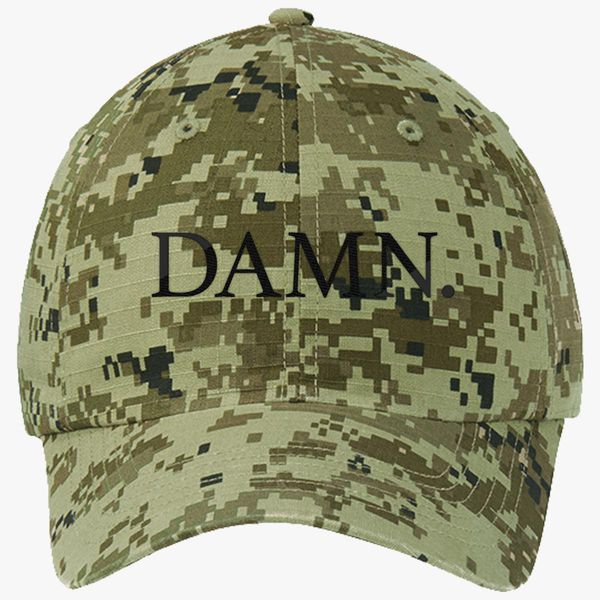 92d843330fd1f Damn. Kendrick Lamar Ripstop Camouflage Cotton Twill Cap - Embroidery +more
