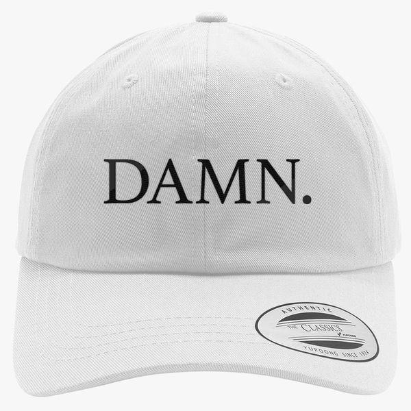 f36d82ea1b5 Damn. Kendrick Lamar Cotton Twill Hat - Embroidery +more