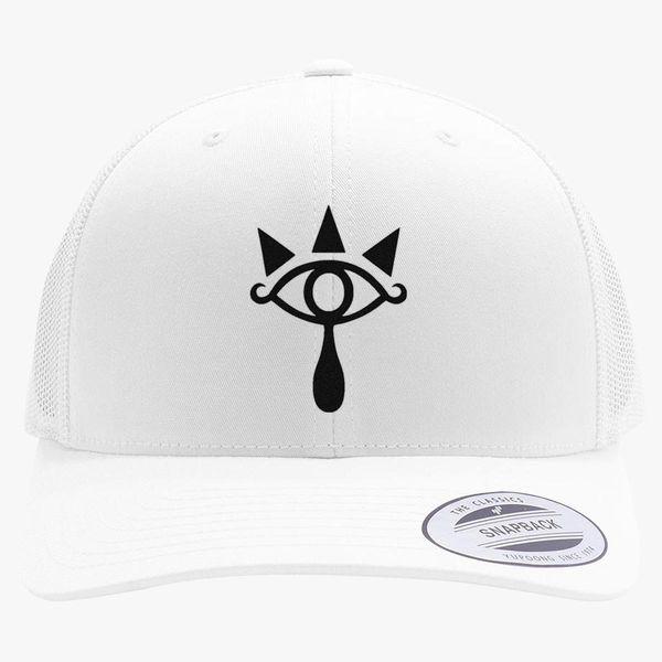fe078267 Sheikah Symbol from The Legend of Zelda Retro Trucker Hat ...