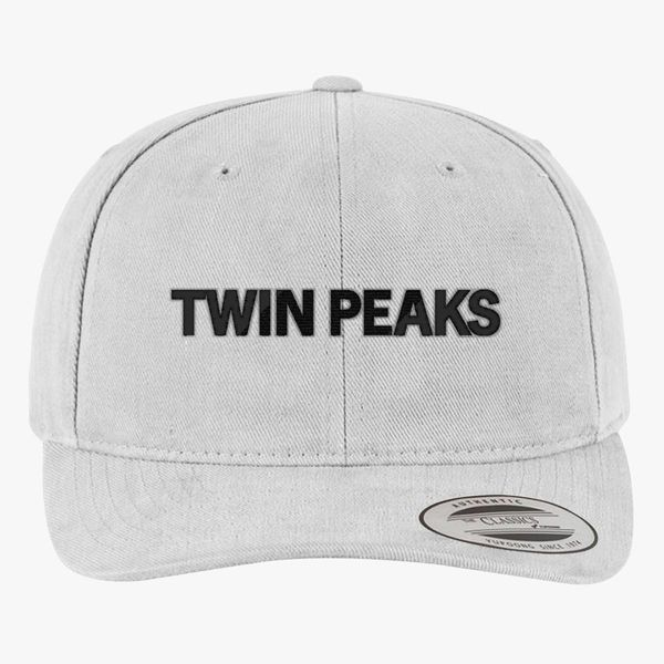 feb7d169 Twin Peaks 2 Brushed Cotton Twill Hat (Embroidered)   Hatsline.com