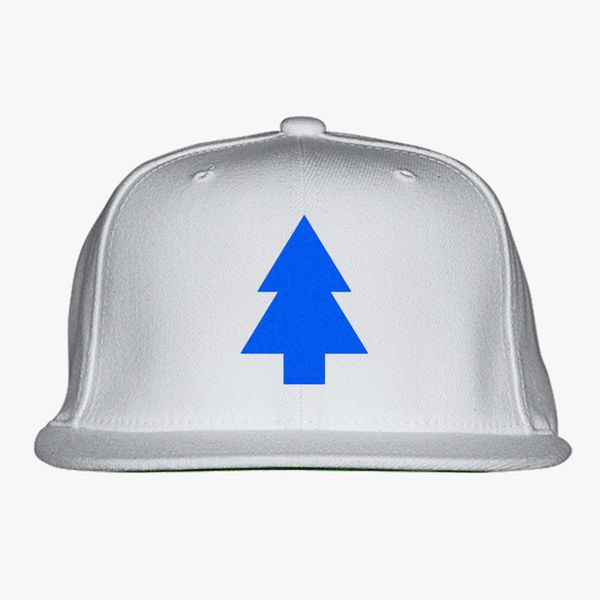 04c9eced06a Dipper Pines Tree Gravity Falls Snapback Hat - Embroidery +more